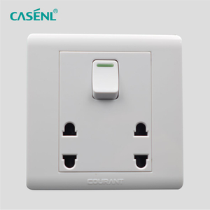 Two Two Pin Switch Socket
