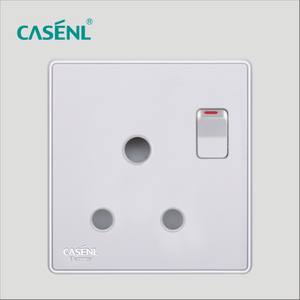 15A Three Round Pin Switch Socket