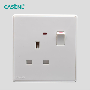 13A BS Switch Socket with Light